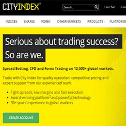 city index forex demo