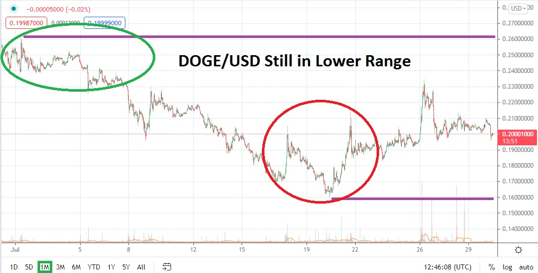 DOGE/USD August 2021 Monthly