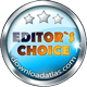 Won DownloadAtlas.com Editor's Choice Award
