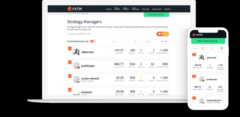 FXTM Platforms