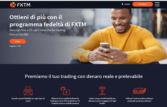 FXTM Bonus