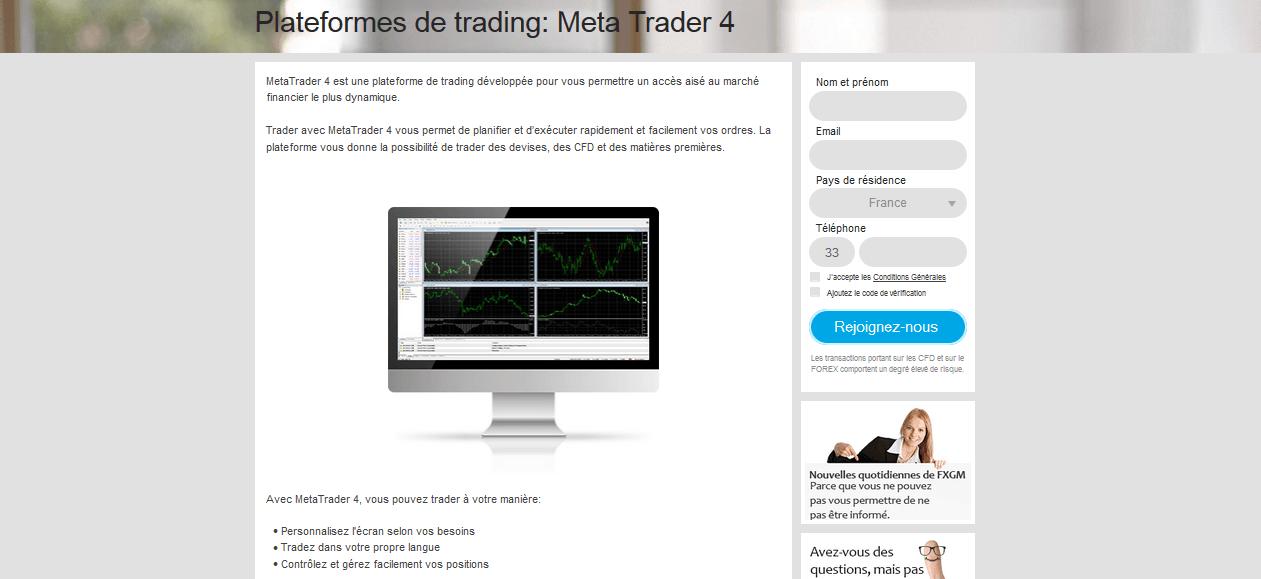 FXGM Platform Web PROfit