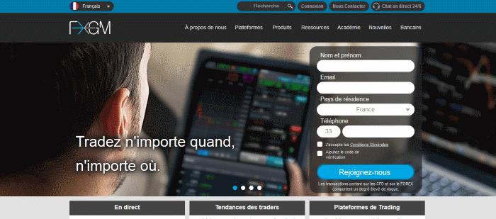 FXGM Homepage