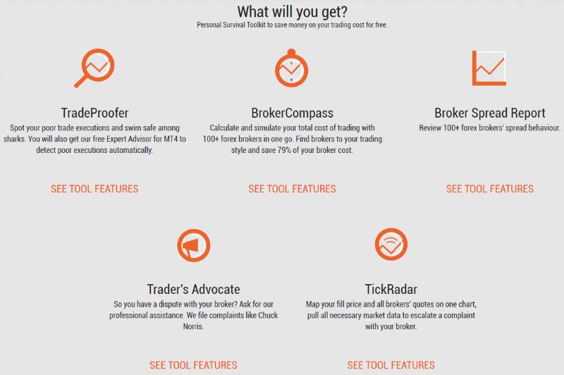 Tradeproofer Tools