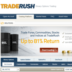 Traderush binary options strategy free sports betting tips and free