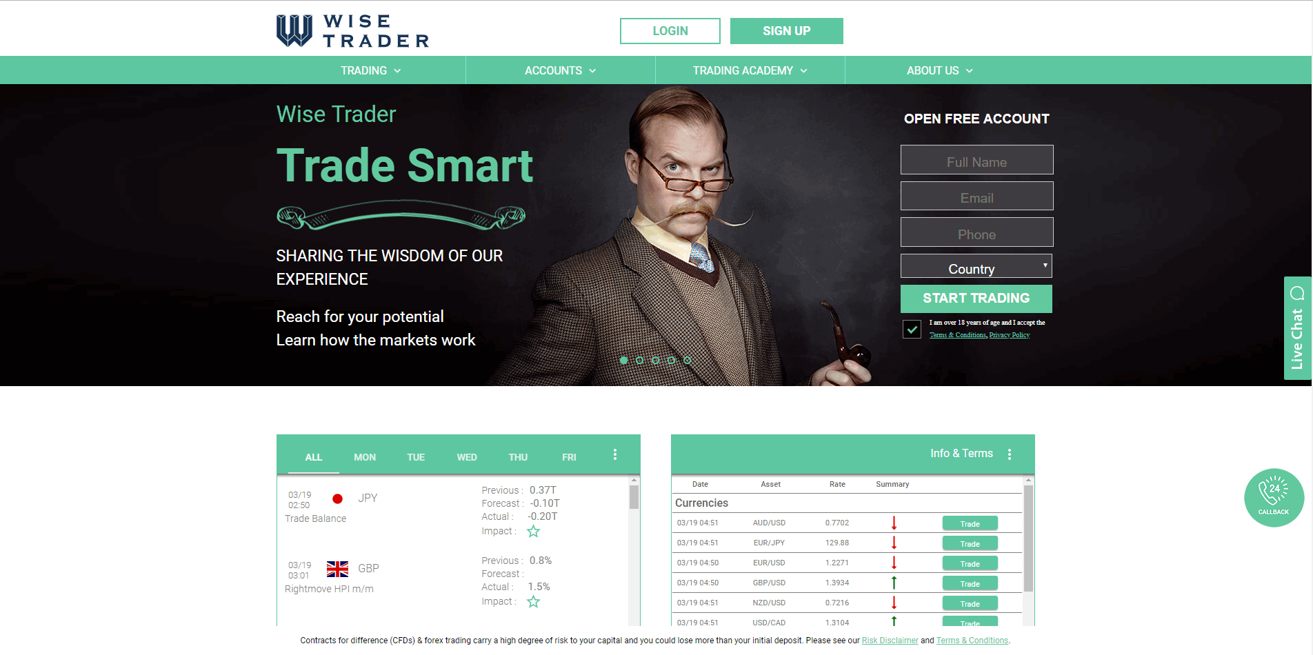 Wise Trader Review